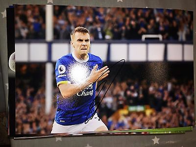 Seamus Coleman Everton Fc Toffees Hand Signed 12X8 Photo New Stock