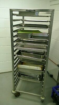 Heavy Duty Genuine Durable Stainless Steel Bakery or Tray Paired Holder