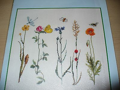 Cross Stitch Chart Meadow Flowers Thea Gouverneur
