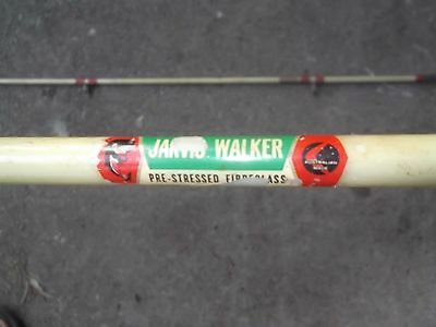 """Rare Old Jarvis Walker """"The Stephen Howard"""" Fishing Rod 60s/70s Aus.Made Antique"""
