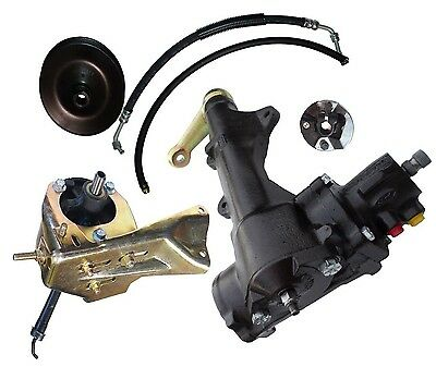 1966-1976 FORD  F100-F150-F250 2WD tTRUCK  POWER STEERING CONVERSION ( ENGINE ?)