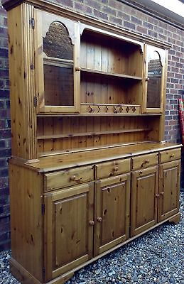 * Large Ducal Pine Dresser Sideboard Display Unit * Delivery Possible!