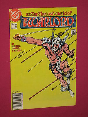 The Warlord #121 DC Comics 1987 - Bagged & Boarded