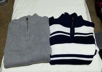 Lot of 2 boys size M 7/8 childrens place sweaters
