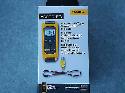 As new Fluke FLK-T3000 K-type temperature meter T3000 FC Connect bluetooth