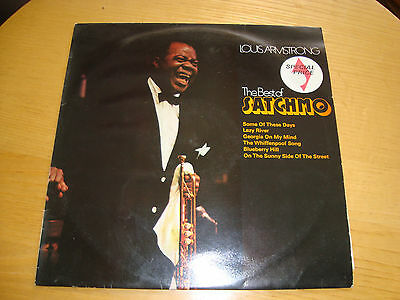 Louis Armstrong 'the Best Of Satchmo' - Lp Mca Uk