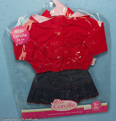 """Miss Corolle Outfit  for 17""""   New in Package"""