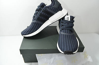 83314547b49fe Adidas BB3124 NMD R1 Bedwin Shoes   Night Grey - Core Black - White   size