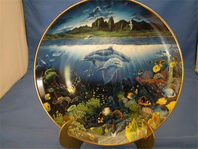 Underwater Paradise Plate Robert Lyn Nelson Discovery Off Anahoula