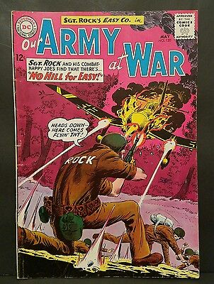 Our Army At War #130 FINE Sgt Rock's Easy Company (DC 1963 War)