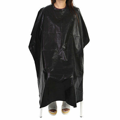 Salon Barber Hairdressing Gown Dye Styling Cutting Shampoo Hair Cape Cloth BY