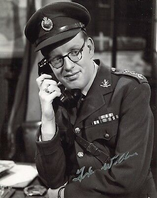 BBC Comedy DADS ARMY photo signed by Frank Williams No4