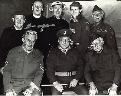 BBC Comedy DADS ARMY photo signed by Frank Williams No5