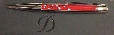 St Dupont Hope For Japan Limited Edition Defi Ballpoint Pen New Box Red Lacquer