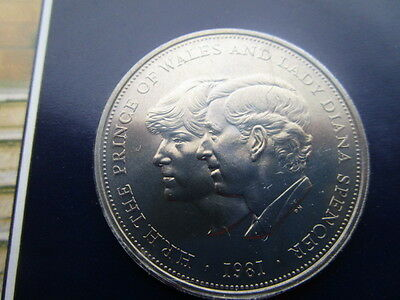 Lady Diana Spencer /h.r.h.the Prince Of Wales  Marraige Commemoration Coin