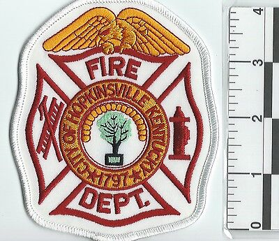 NEW RARE CITY OF HOPKINSVILLE  FIRE DEPARTMENT UNIFORM PATCH rescue ems not fdny