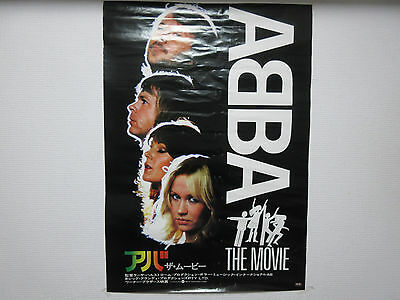 ABBA Movie Japan Promo Poster for The Film Frida Bjorn Hep Stars