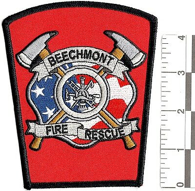 NEW RARE ANDERSON TOWNSHIP BEECHMONT VOLUNTEER FIRE RESCUE PATCH firefighting