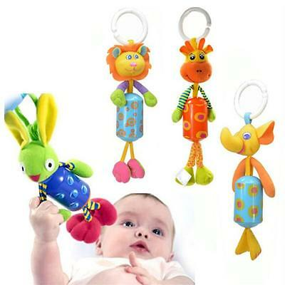 CHIC Baby Pram Bed Bell Soft Hanging Toy Animal Handbells Infant Newborn Rattles