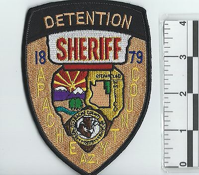 NEW RARE APACHE COUNTY DETENTION SHERIFF DEPARTMENT UNIFORM PATCH police officer
