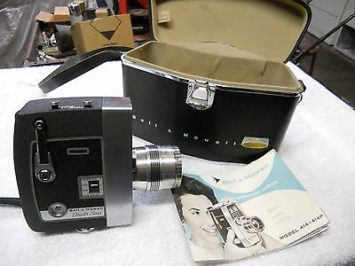 VINTAGE BELL & HOWELL Director's Series Zoomatic 8mm