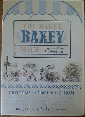 makey bakey mice christmas collection cd rom crafters companion