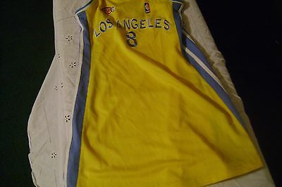 NBA-LOS ANGELES LAKERS #8-Jersey Made in Pakistan Sz L-