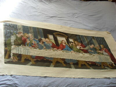 Gorgeous Hand-Embroidered Tapestry (The Last Supper)