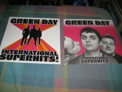 GREEN DAY-(international superhits)-1 POSTER-2 SIDED-12X12-MINT-RARE