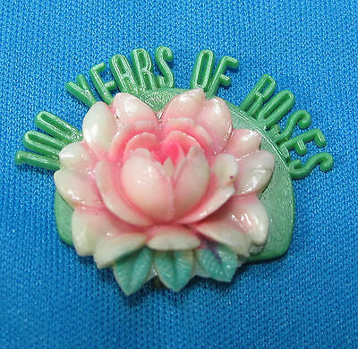 100 Years of Roses Rose Festival Parade Portland Oregon OR Souvenir Pin Anderson