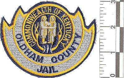 NEW RARE COMMONWEALTH OLDHAM COUNTY JAIL OFFICER UNIFORM PATCH police sheriff