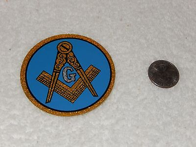 vintage Masonic decal G compass & square Decal Sticker