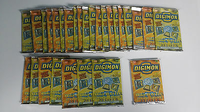 28 Digimon Digi-Battle Card Game Series 2 Booster Cards (28 unopened packs)