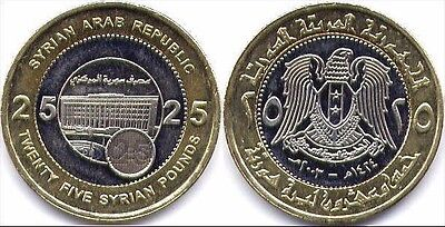 Uncirculated Mint Set 2003 25 Syrian Pounds Coin (40 Coins)