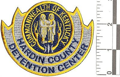 NEW RARE COMMONWEALTH HARDIN COUNTY DETENTION CENTER PATCH police sheriff 911