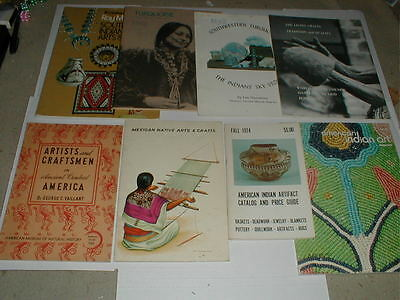Southwest Native American Indian Pottery Book LOT Mexico Turquoise Basket VTG