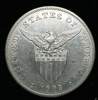 1903s Peso US-Philippines  Silver Coin - lot#4