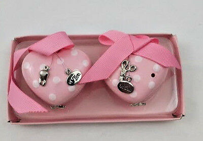 Mud Pie Baby Little Princess Treasure Box Set Heart Boxes First Tooth  and Curl