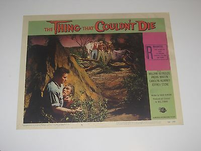 The Thing That Couldn't Die (1958) Lobby Card Universal horror