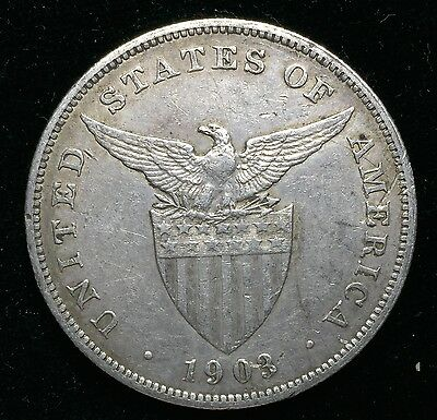 1903p Peso US-Philippines  Silver Coin - lot#9