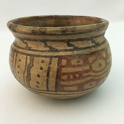 Pre-Columbian Polychrome Olla Vessel -Possibly Nicoya