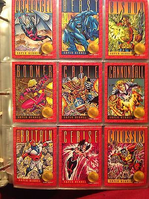 "1993 Skybox ""The X-Men"" Series 2, Marvel Comics, Complete 100 + Magneto hologram"