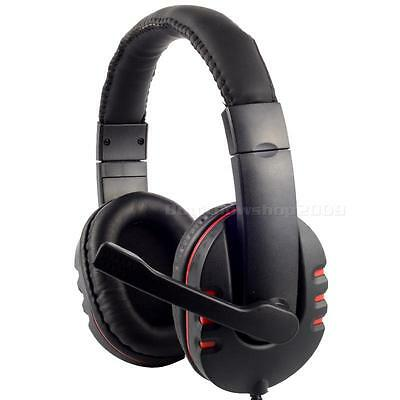 USB Live Headset Headphone Microphone for PlayStation 3 PC Mac, Laptop Desktop
