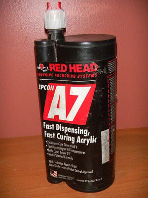RED HEAD EPCON A7 Adhesive Anchoring Systems 28 fl oz