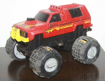 "Vintage 1984 GALOOB ""Animal"" Monster Truck Battery Operated Plastic Toy Truck"