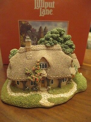 Lilliput Lane - RUSTIC ROOT HOUSE - Boxed - NO Deeds