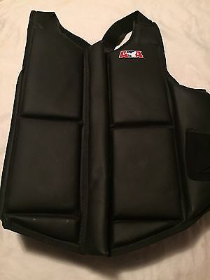 ATA Taekwondo Martial Arts Sparring Gear Chest Protector - Unisex XL USED