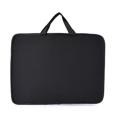 """NEW 15.6"""" Stylish Laptop Notebook Sleeve BLACK Bag Case Cover for Dell Sony HP"""