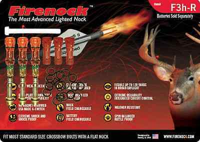FIRENOCK Hunting crossbow lighted nock F3h-R (Standard package)