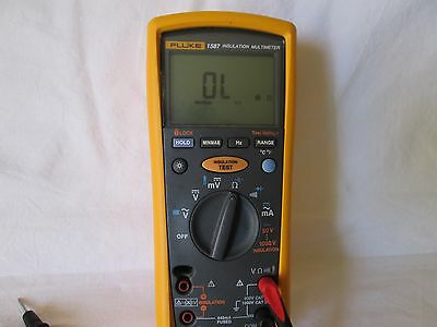 Fluke 1587 Hybrid Insulation Tester and Multimeter